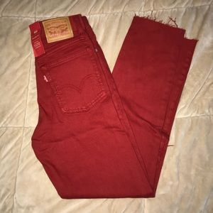 High Waisted Levi Jeans